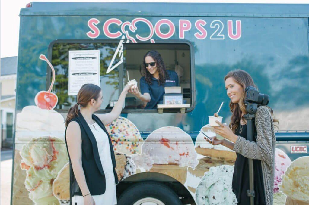 ice cream truck for weddings