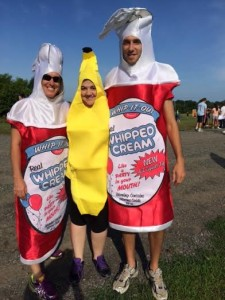 Ice Cream Race Costumes