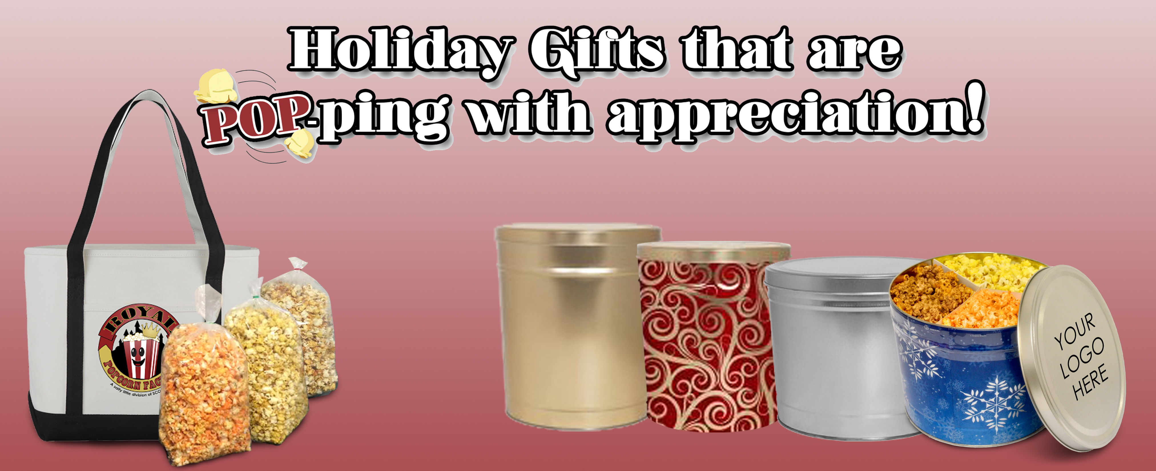 Popcorn Holiday Gifts